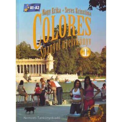 Colores 1. Spanyol nyelvkönyv CD-vel